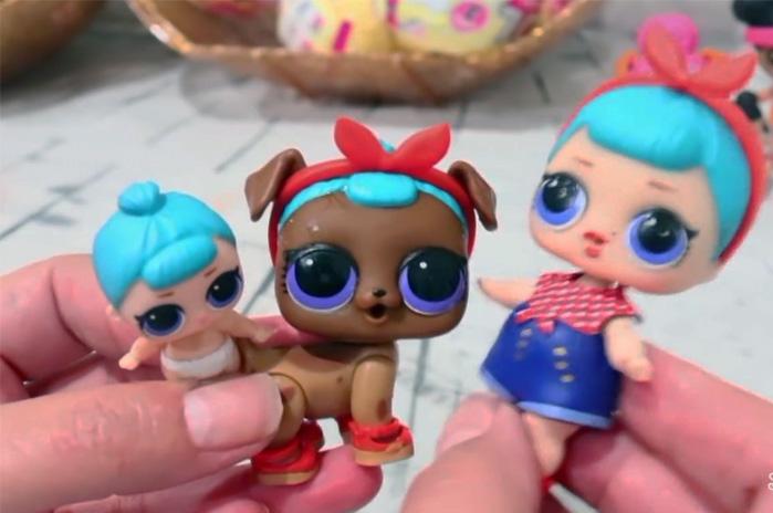 Серия кукол ЛОЛ - девочка, сестра и питомец
