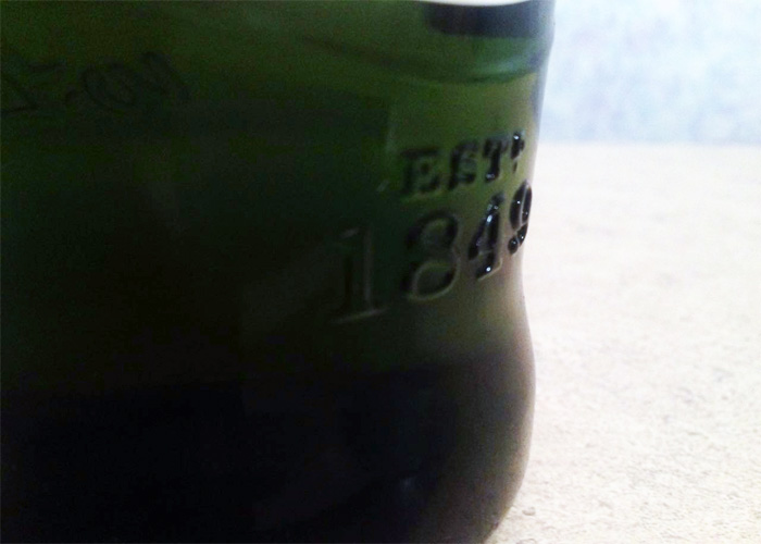 Гравировка год начала производства виски