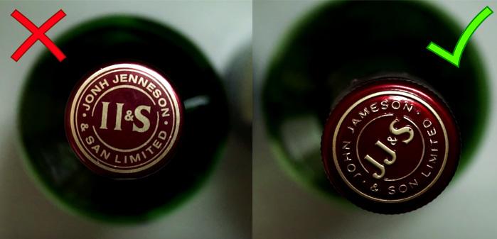 Как отличить поддельный виски Jameson