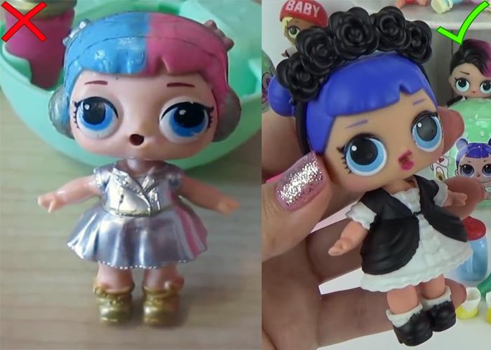 Куклы лол оригинал и подделка отличия