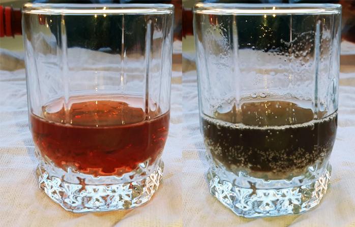 Как проверить качество вина содой