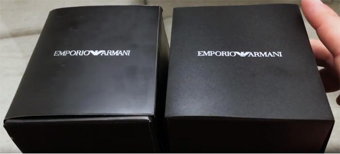 Как отличить реплику часов Armani
