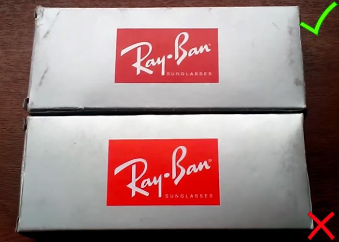 Ray ban как отличить оригинал от подделки фото.